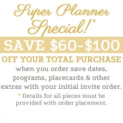 Super Planner Special!