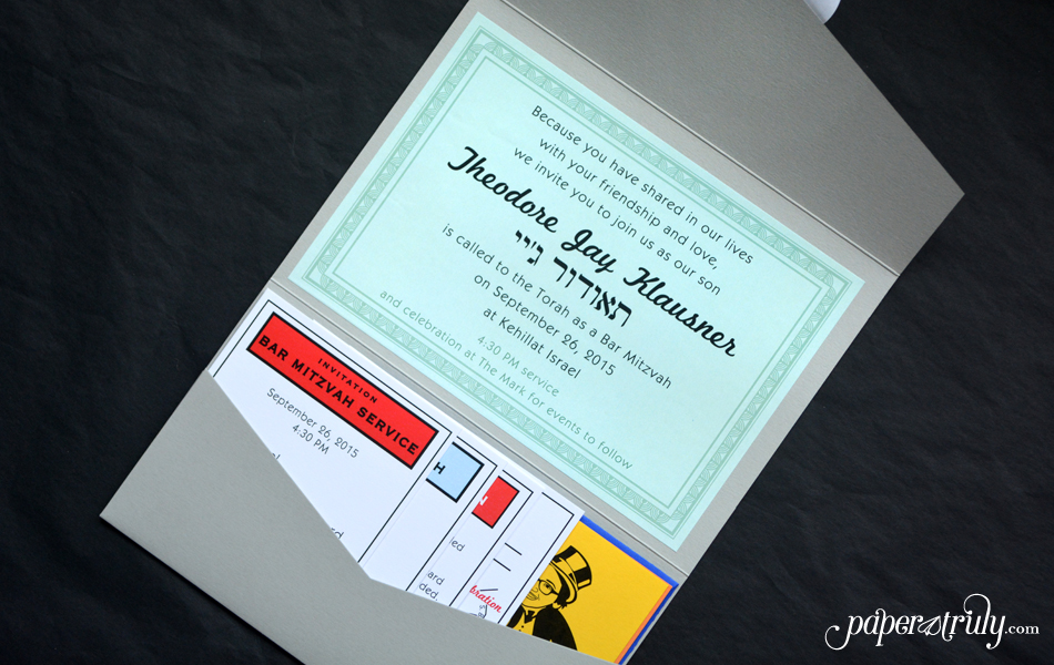Monopoly invitation Archives - Paper Truly