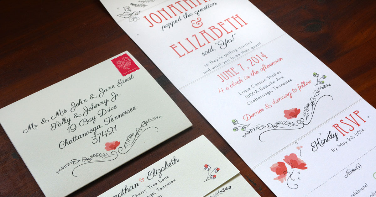 Simply Great Wedding Invitations - Paper Truly
