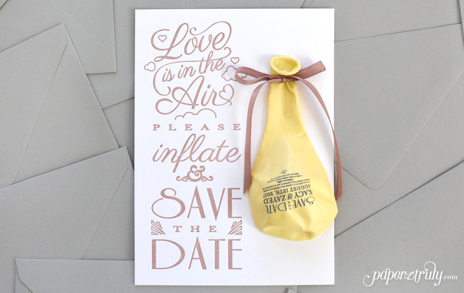 Top 4 Invitation Printing Styles - Paper Truly